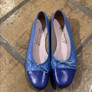 Paul Mayer ballet flats 9.5